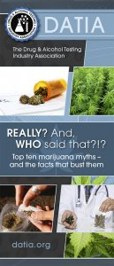 Top ten marijuana myths - and the facts that bust them brochure.